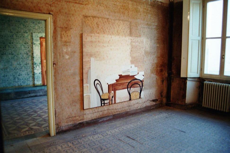"""Anna Valeria Borsari, """"Chi è vissuto qui?/Qui è vissuto"""", 1977"""